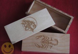boite guimbarde bois jew harp box